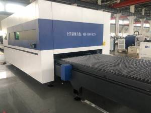 Shuttle Table Laser Cutting Machine