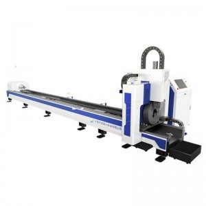 Less tailing pipe laser cutting machine