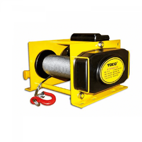 Europe style for Electric Wire Rope Hoist With Trolley - JW-Y2 SerieS MultiFunctional tHree pHaSeS electric Motor Mini wincH HoiSt – CHENLI