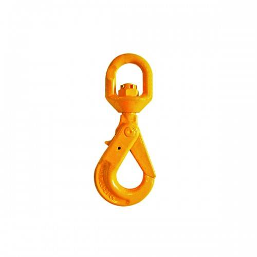 G80 EUROPEAN TYPE SWIVEL SELF-LOCKING HOOK