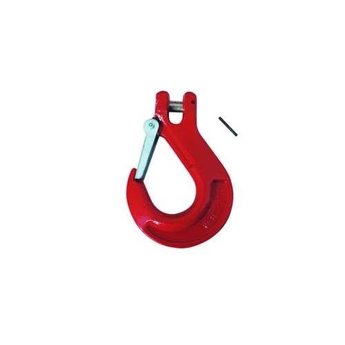 G80 ITALIAN TYPE CLEVIS SLIP HOOK WITH LATCH