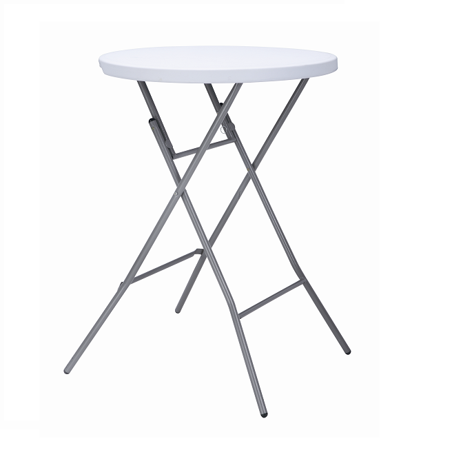 2018 hot sales 110cm height plastic bar table and chairs