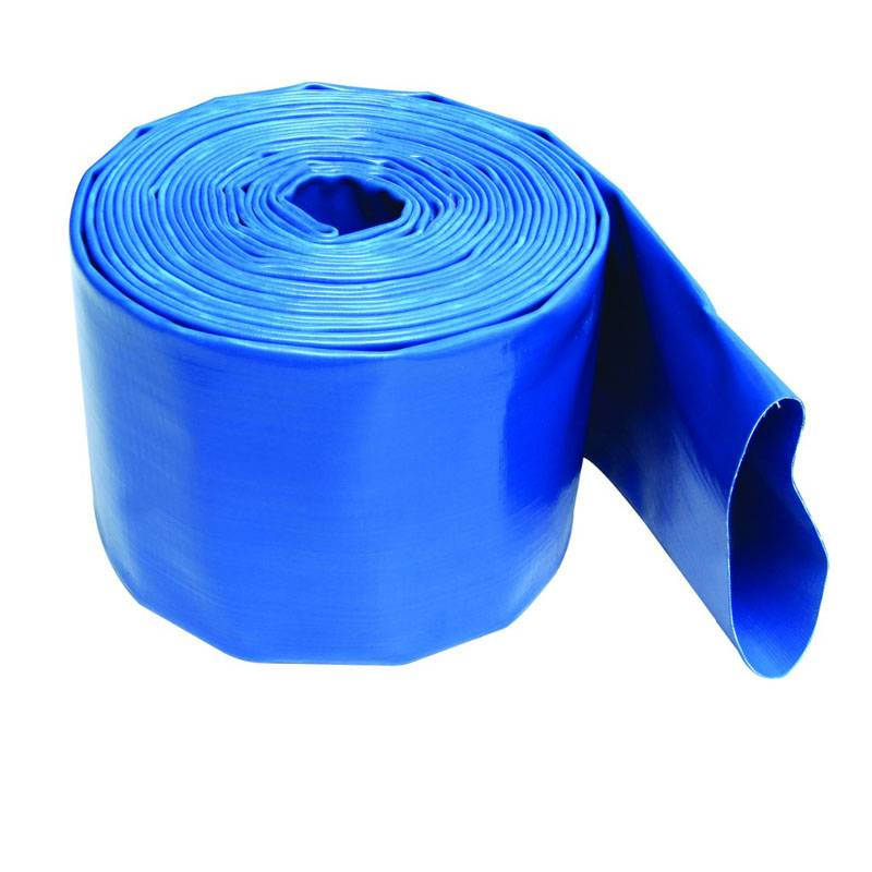 Heavy Duty PVC Layflat  Hose 8 Bar