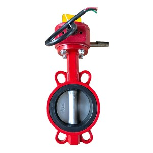 Wafer Butterfly Valve Fire