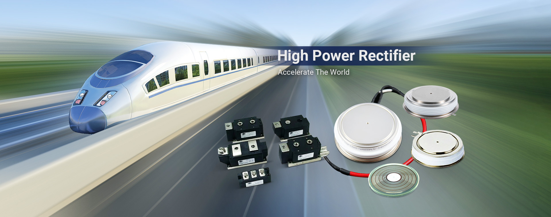 high power thyristor power module