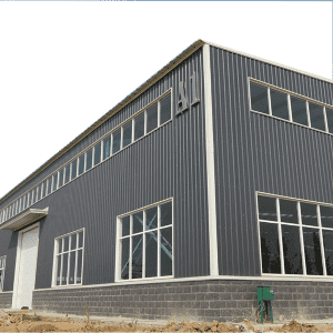 low cost modern design steel structure storage workshop