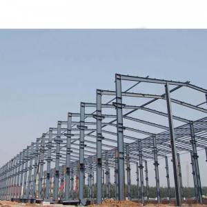 large span light steel workshop/prefab steel storage warehouse/steel structure building