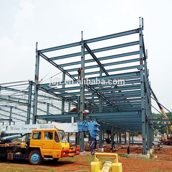 Cheap prefabricated steel warehouse materials