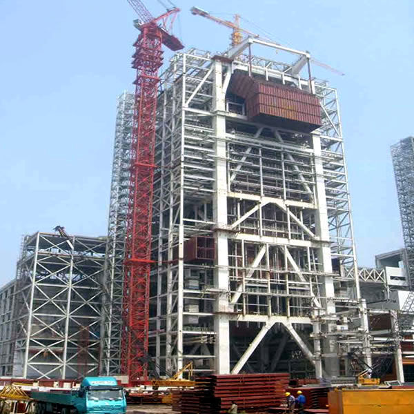 Light prefabricated high rise steel building for office Featured Image