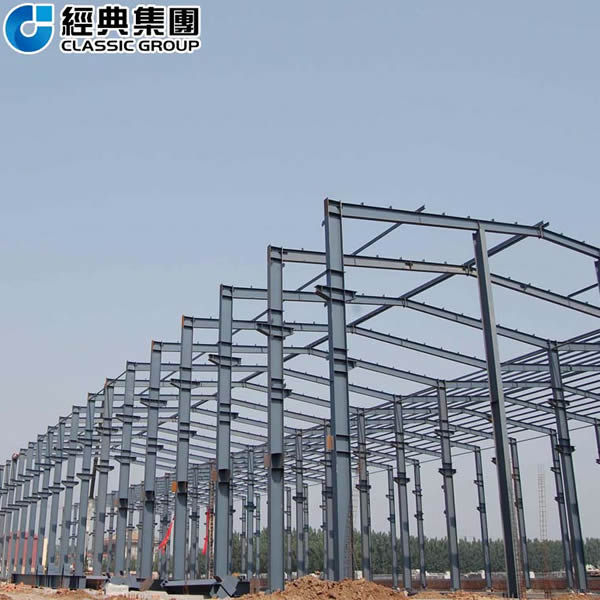 Multi-span portal frame steel structure building Featured Image