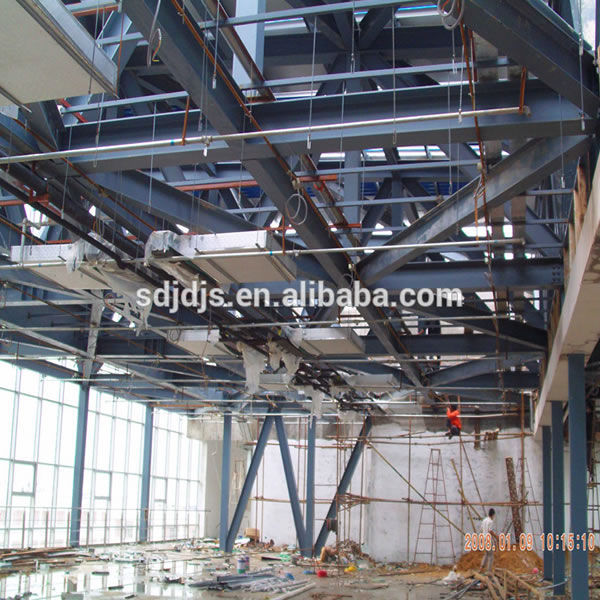 Steel frame structure prefab building Featured Image