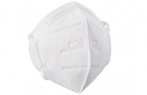 6002A FOLDING TYPE KN95 Masks,Disposable Nonwoven KN95 Folding Half Face Mask