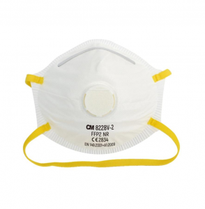 Cup Type FFP2 N95 Mask With Valve, CE Certified N95 Masks