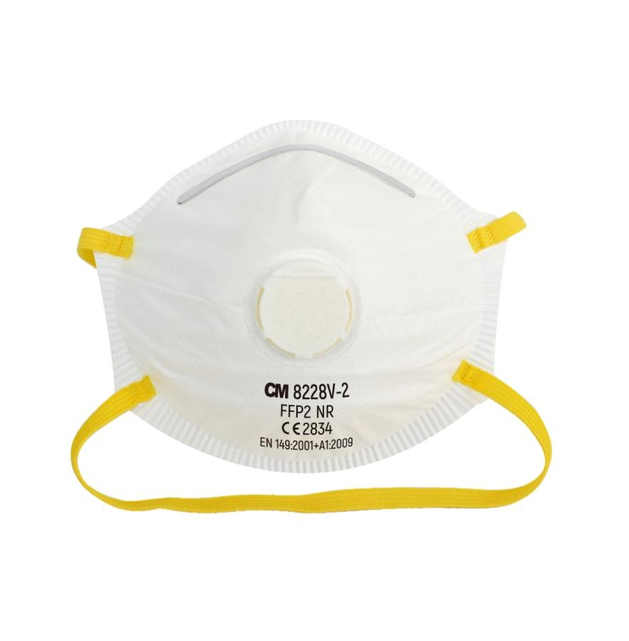 Cup Type FFP2 N95 Mask With Valve, CE Certified N95 Masks Featured Image