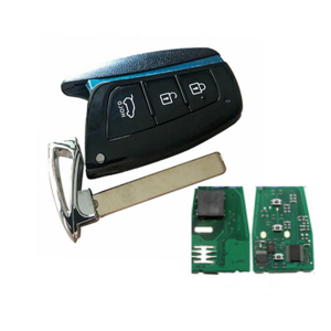 keyless remote key 434mhz with chip PCF7945/7953 for New Hyundai Santa Fe smart key