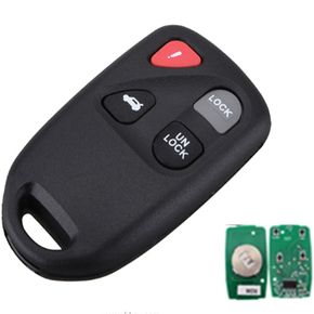 For Mazda 5 3+1 button remote key with 313.8MHZ