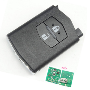 Car key Smart key 2 button remote control 434mhz 315mhz for M3/M5/M6 Mazda 6 series auto key