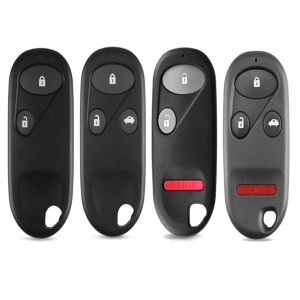Keyless Entry Replacement Remote Key Fob Case Shell 2/3/4 Buttons For Honda Accord Civic CRV Jazz S2000 Fit Odyssey