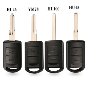 2 Buttons Remote Car Key Case Shell for Opel Vauxhall Corsa c Meriva astra h j g d Combo Auto keys Fob Micro Switch