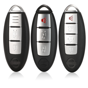Smart 3/4 Button Remote Key Shell Case For Nissan Sunny ALTIMA MAXIMA Murano Versa Teana Sentra Infiniti G35 G37
