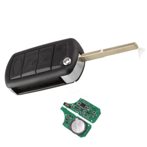 Flip Remote key 3 button car key with 433MHZ 315mhz pcf7935 chip for Land Rover Range Rover KEY