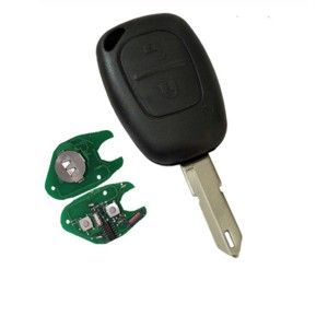 2 Button Car Remote Key 433mhz ID46 Chip Transmister for Renault Traffic Master Vivaro Movano Kango