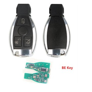 Reliable 2 Batteries BE Chip 315MHz  433MHz Car Smart Remote Key Fob For Mercedes Benz BE  KEY