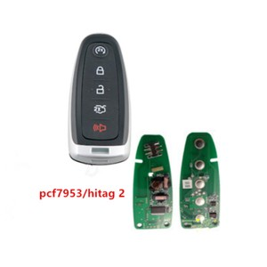 Smart5 button Remote Key 434mhz 315Mhz PCF7953A For Ford Edge Escape Explore Expedition Focus Taurus car key