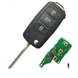 3 button remote key 433MHZ 48 chip 5k0 837 202 ad   for VW VOLKSWAGEN 5K0837202AD Beetle/Caddy/Eos/Golf/Je/tta/Polo/Scirocco/T