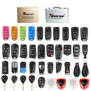 XHORSE Universal Remotes Key Shell English Version One set ( 39 pcs ) package for VVDI2 or VVDI Key Tool