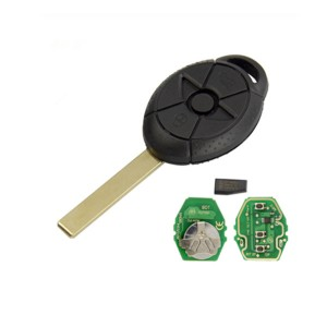 3 Button EWS Remote Key 433MHz/315MHz for Old BMW Mini Cooper