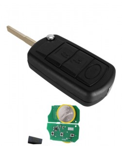 3 button remote key with 315/433mhz id44 pcf7935 chip For Landrover Range Rover