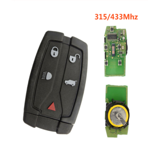 5 Buttons 315/433Mhz ID46 PCF7945 Car Remote Key For Land Rover For Range Rover Freelander 2 LR2 Sport Remote Control