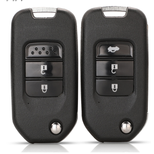 Remote Car Key Case Shell For Honda Civic Accord City CR-V Jazz XR-V Vezel HR-V FRV Original Key 2/3 Buttons