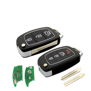 Keyless Flip Folding Remote Key 433mhz ID46 Transponder Chip for Hyundai Accent Ix35 I30 Solaris Tucson I20 Santa Fe