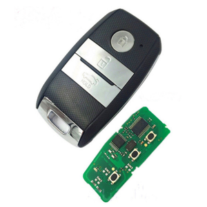 car accessorry 3 button smart car key 434mhz pcf7952 id46 chip for New Kia K5 Sportage-R keyless remote key