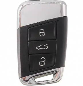 Smart Remote Key 3 Buttons 434MHz FOB for Volkswagen VW Magotan B8 Superb A7 Passat Variant 2015-2019 Replacement