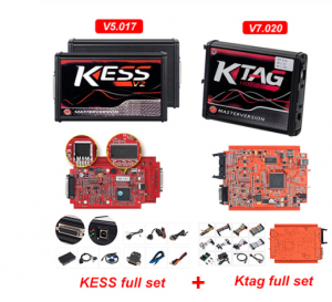 KTAG V7.020 V2.23 4 LED Master Version ECU Programming tool KESS v2 V5.017 EU Red OBD2 chip Tuning BDM Frame adapter