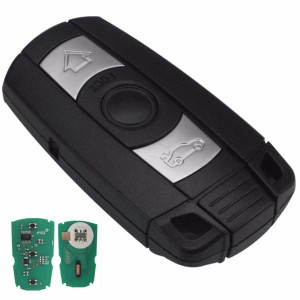 3 Button Remote Key  315/434/868MHZ pcf7945 chip CAS3 3+ for BMW 3/5 Series X1 X6 Z4