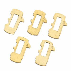 Car lock accessorry For Buick lock wafer it contains 1,2,3,4,5 Each number has 20pcs