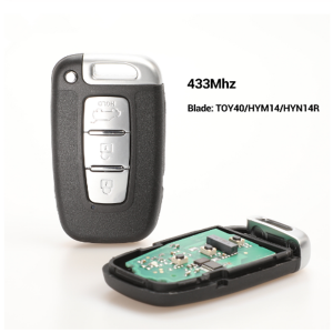 433Mhz Car Remote Smart Key for HYUNDAI I30 I45 Ix35 Genesis Equus Veloster Tucson Sonata Elantra SY5HMFNA04 For Kia