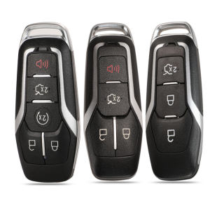 5 Buttons Remote Car Key Shell For Ford Edge Explorer Fusion 2015 2016 2017 M3N-A2C31243300 Smart Key Fob