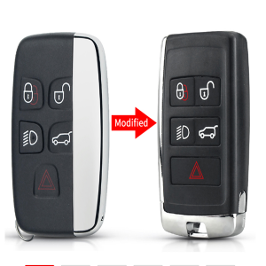 Modified Key Shell For Land Rover Range Rover Sport LR2 LR4 for Jaguar F-Pace F-Type XE XF XJ Upgraded Remote Blank Case