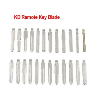 Universal Metal Blank Small Key Uncut Blade for Folding Flip KD Remote Key