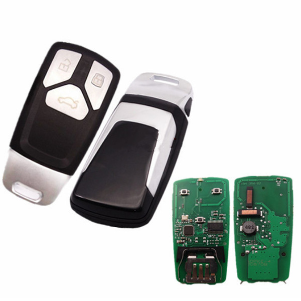For Audi TT 3 button keyless remote key with AES48 chip-434mhz ASK model Featured Image