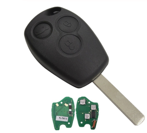 3 buttons Car Remote Key for Clio Scenic Kangoo Megane Vehicle Control Alarm PCF7946/PCF7947/pcf7961 Chip for Renault