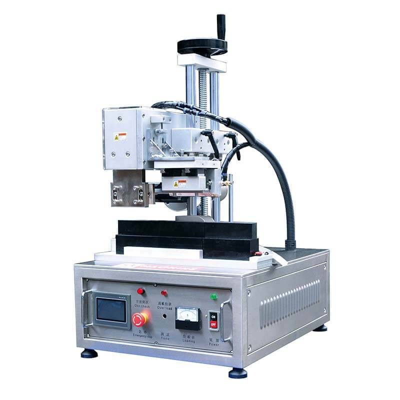 Semi Automatic Ultrasonic Tube Sealer For Special Tube HX-003 Featured Image