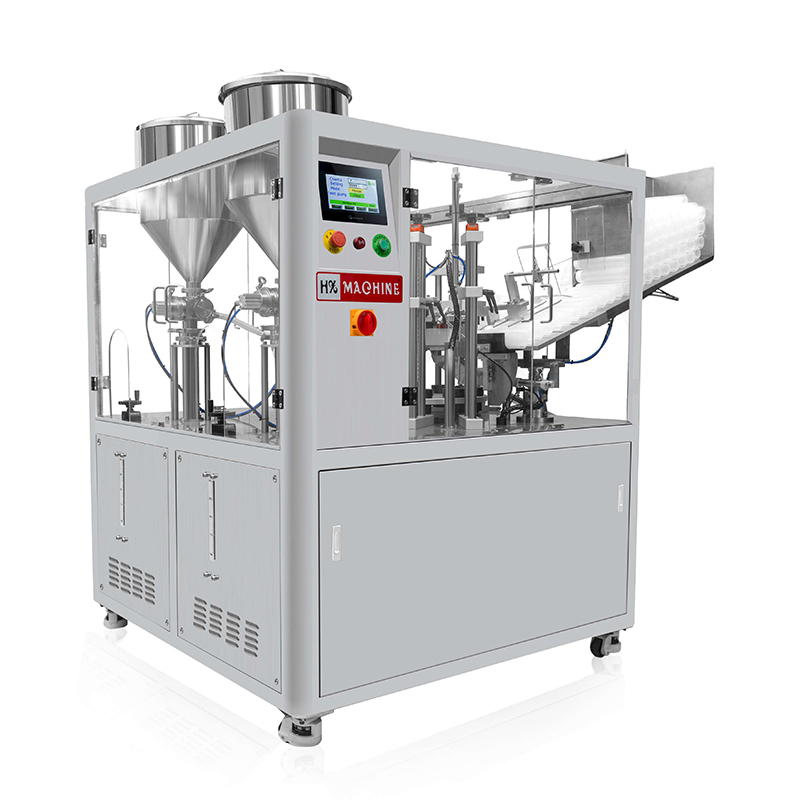 Double tube filling and sealing machine  HX-009S Featured Image