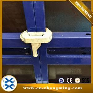 High Quality Metal Concrete Formwork - 63.5#steel formwork – Zhongming