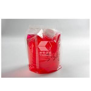 Strong material environmental vertical bag in box (cheertainer) for detergent